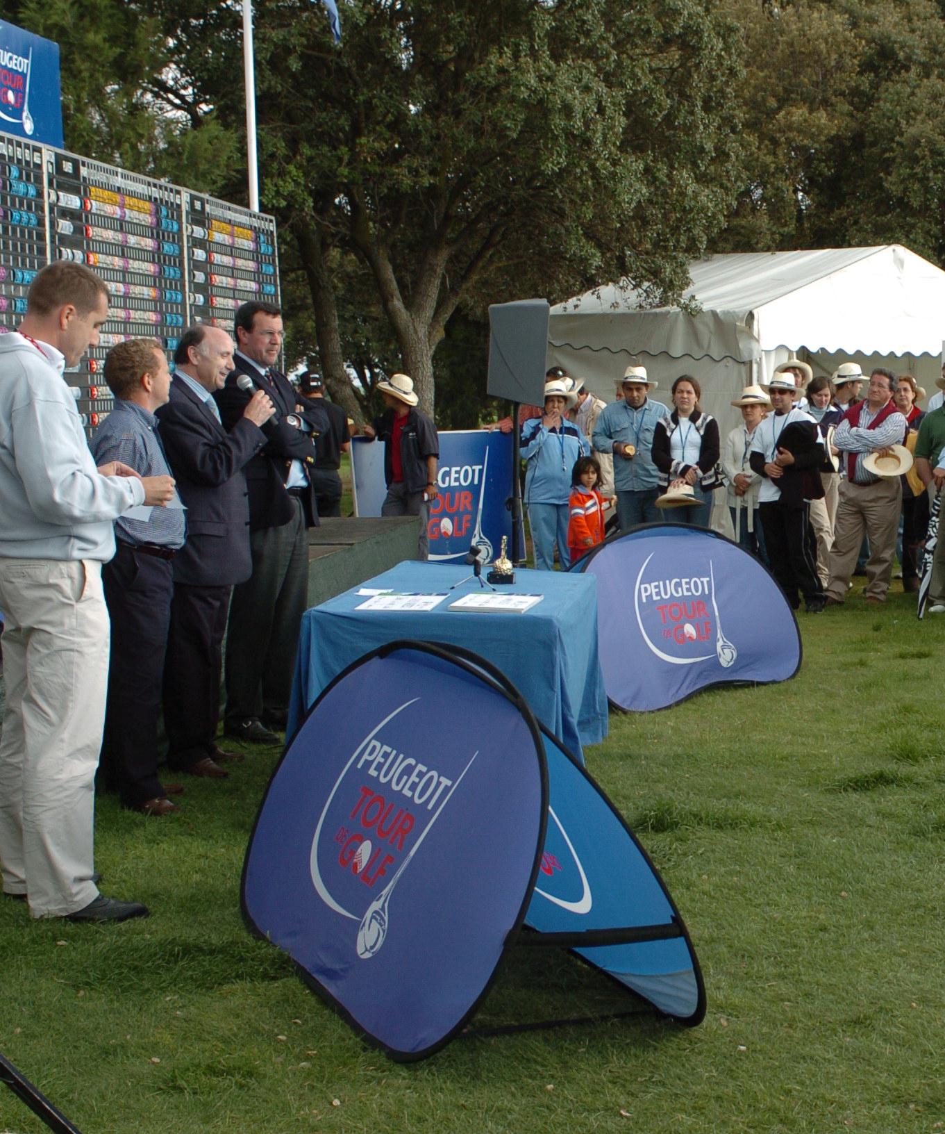 Golf Lerma acoge torneos profesionales y eventos de prestigio.